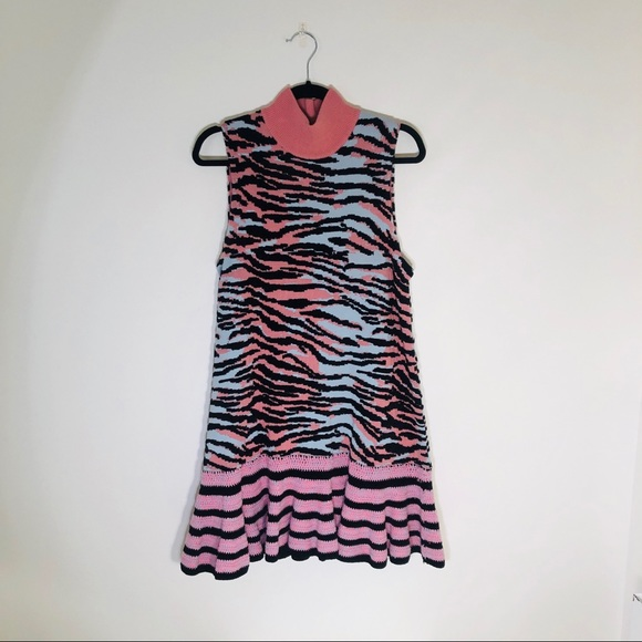 KENZO x H&M Dresses & Skirts - KENZO x H&M Zebra Knit Dress